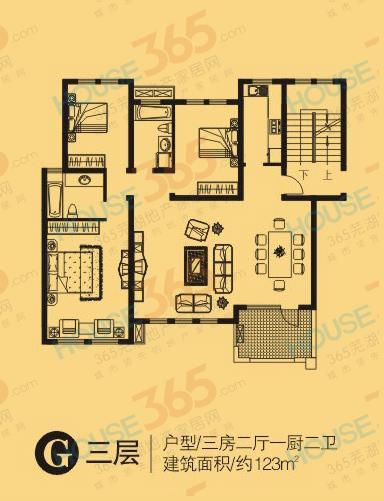 圣地雅歌G3户型图