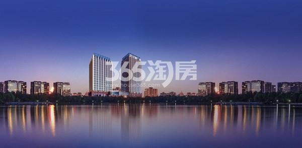 金龙湖广场效果图