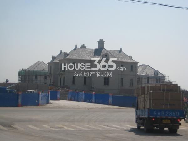 翠屏九溪诚园别墅项目在建