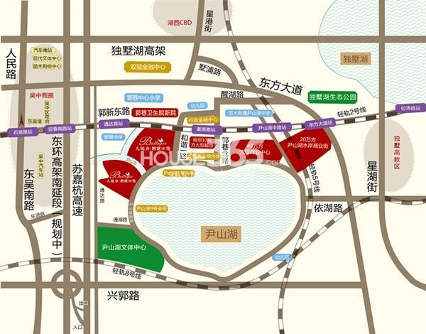 九龙仓碧堤半岛交通图