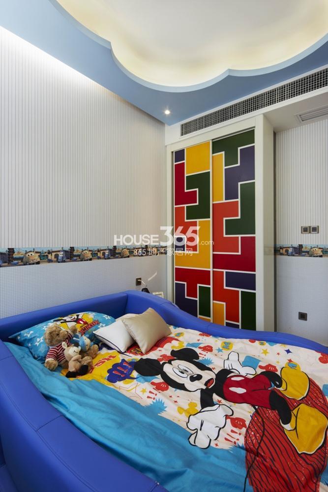 越秀星汇城121方样板房 A户型--儿童房