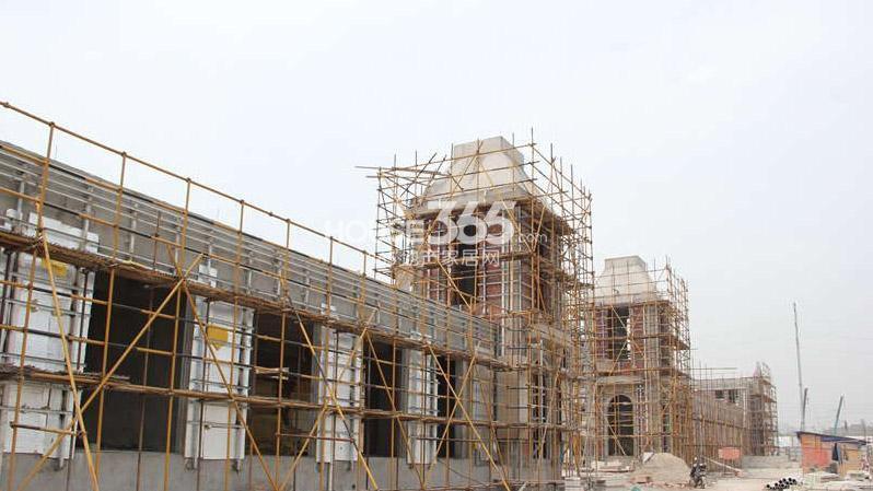 翠屏九溪诚园沿街商业在建 (4.28)