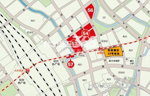杭州港龙城交通图