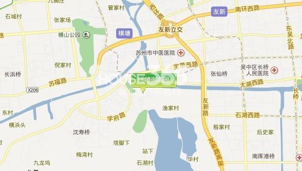 水岸秀墅交通图