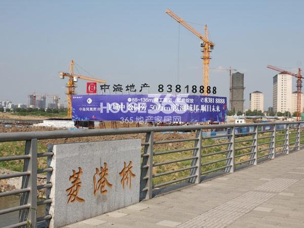 工程进度实景图(2013.7)