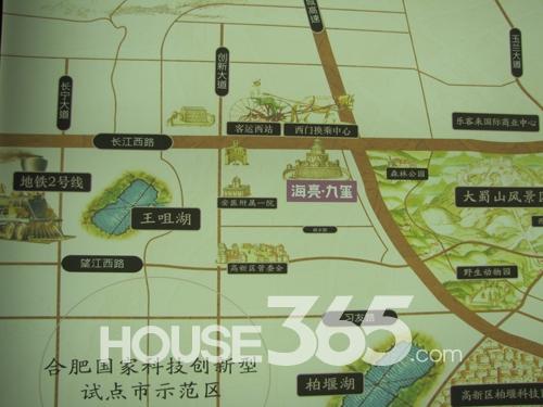 海亮九台别墅交通图