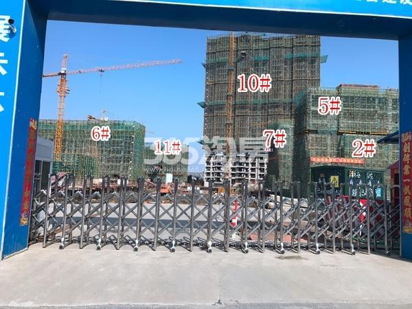 恒大御峰高层10#、11#楼,洋房2#、5-7#实景图(2018.3 摄)