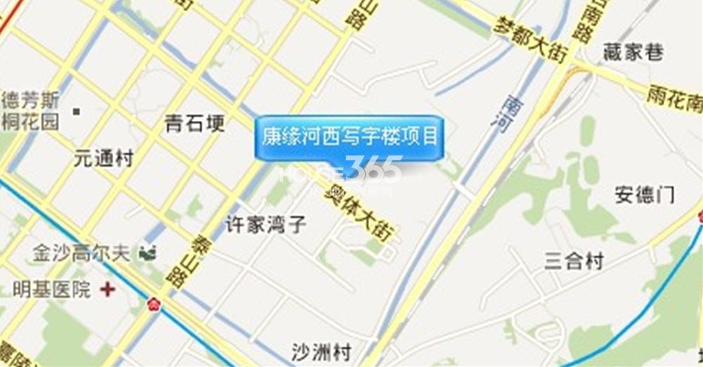 康缘智汇港交通图