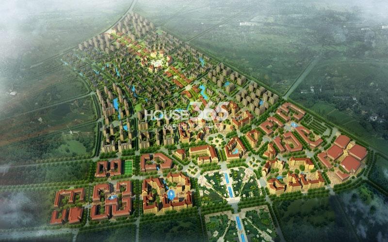 绿地国宝21城鸟瞰图