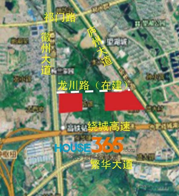 绿地合肥城际空间站交通图