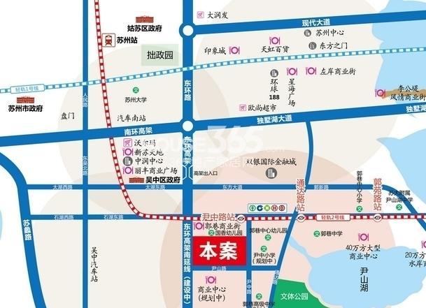 旭辉美澜城交通图