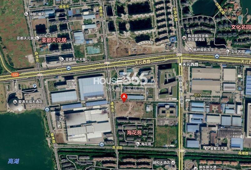 高湖道区位图