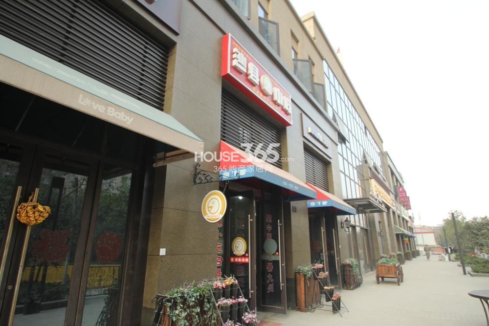 世茂外滩新城配套的沿街商铺(11.11)