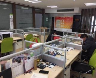 <font color=red>德盈国际广场</font> 上下200平 全套办公家具 拎包办公 看房随时