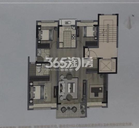 阳光城文澜公馆119㎡户型图