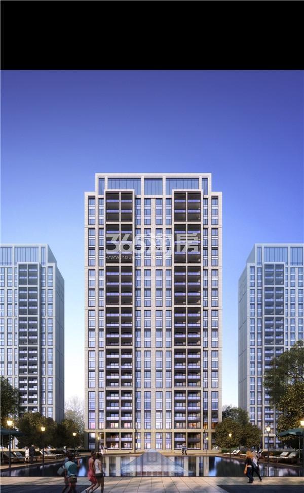 绿地·海悦C1、C2地块住宅效果图