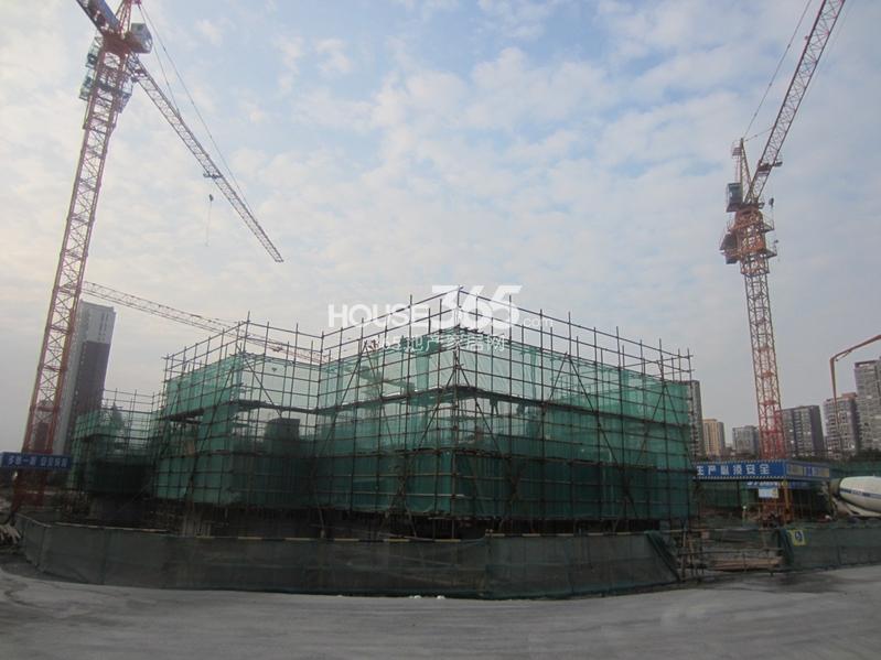 七里香都建设进展(2013.11.13摄)