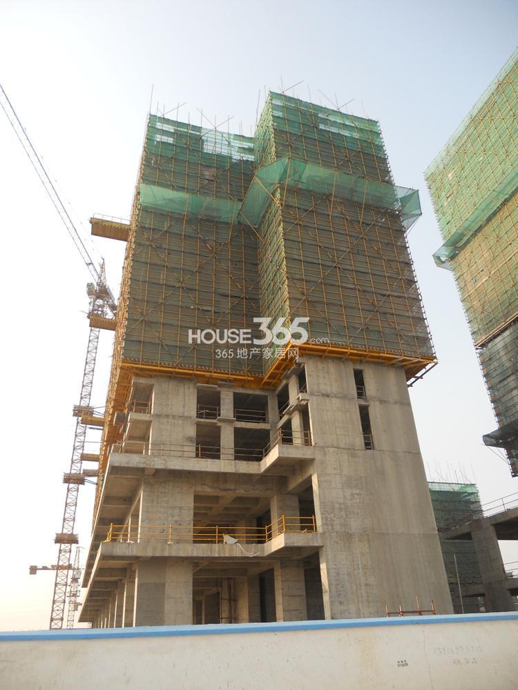 东方万汇城在建酒店式公寓实景图(11.19)