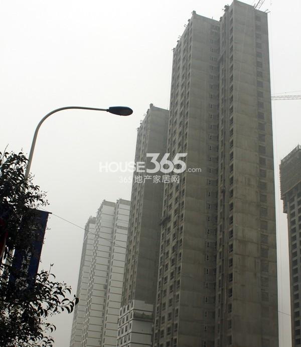 华远海蓝城2期尚苑1、2#楼施工进度图(20131030)