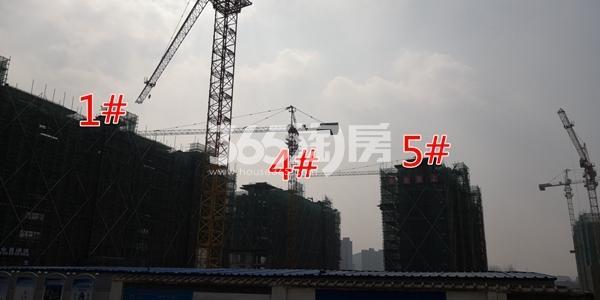 中海熙岸华府1、4、5#楼洋房建至8层(3.16)