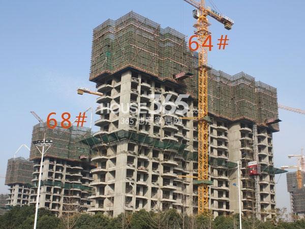 大名城64#、68#工程进度实景图(2013.12.12)