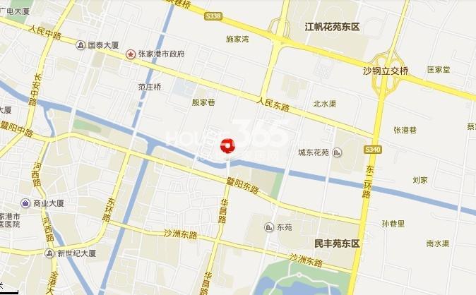 朗诗国泰城交通图
