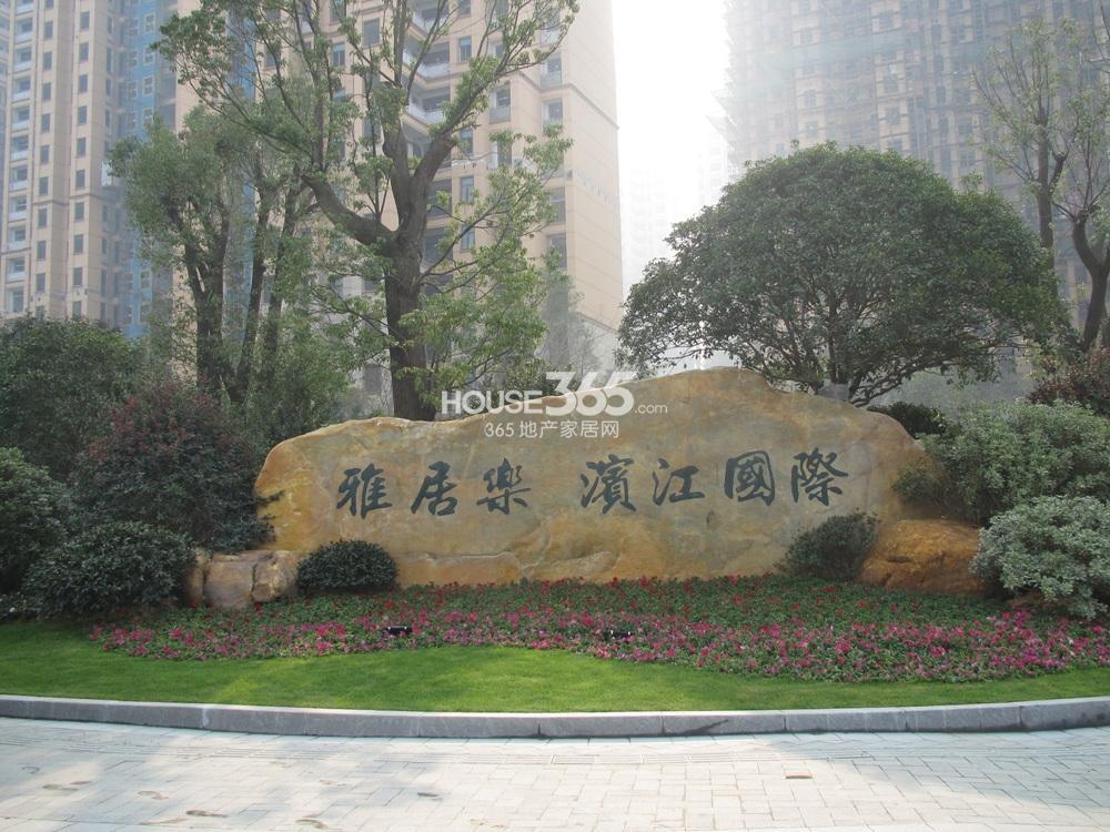 雅居乐滨江国际实景图(12.26)