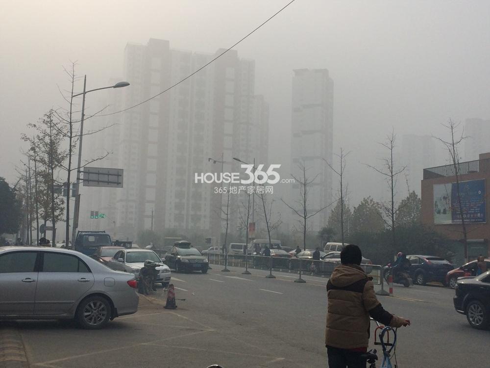 首创天迈广场周边道路(12.27)