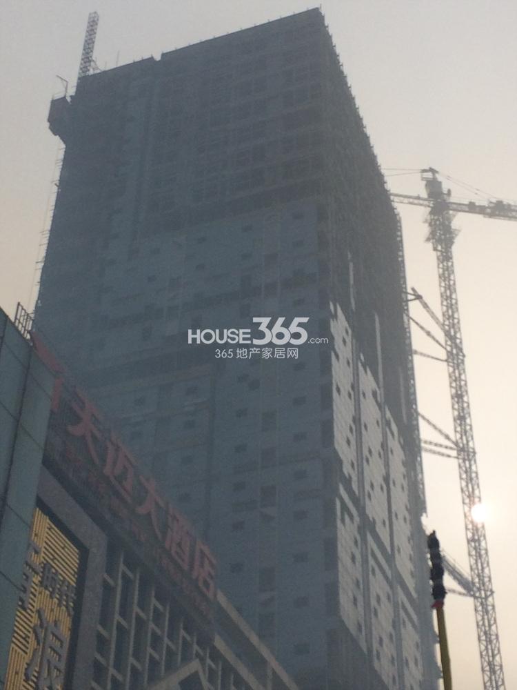 首创天迈广场在建楼栋实景图(12.27)