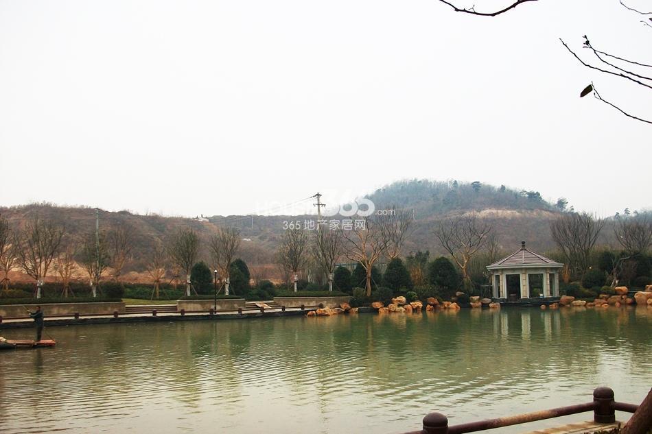 银亿东城售楼处湖景实景图(1.11)
