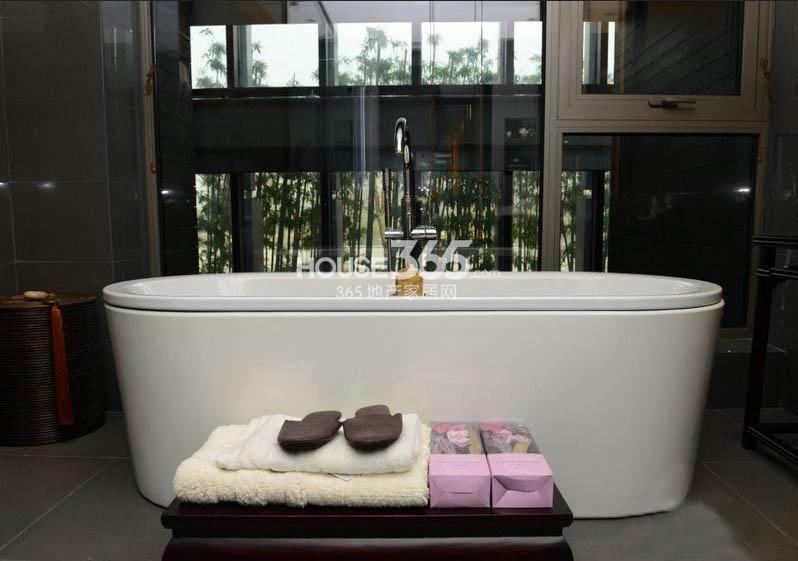 万科大明宫样板间 浴室