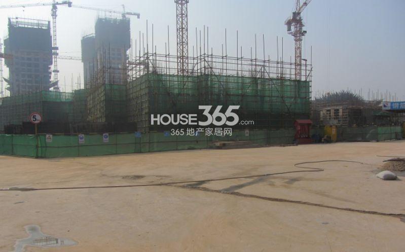 万科大明宫二期9#楼工程进度图(2013.12.20)