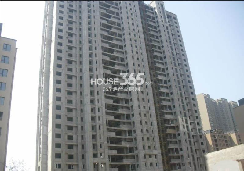 万科大明宫22#楼工程进度图(2013.12.20)