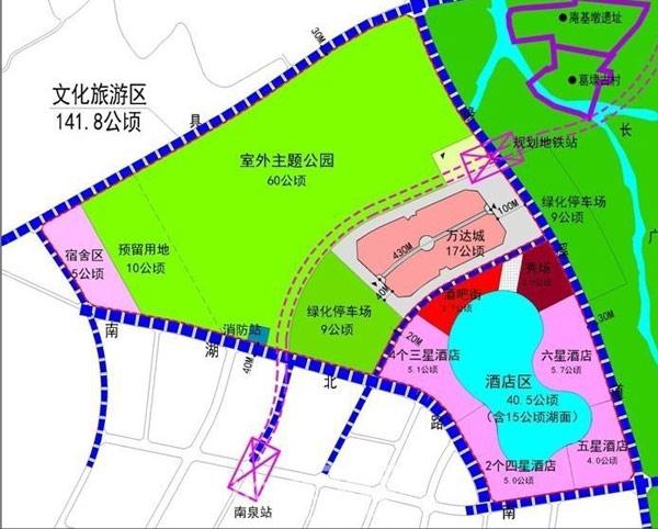 无锡万达文化旅游城规划图