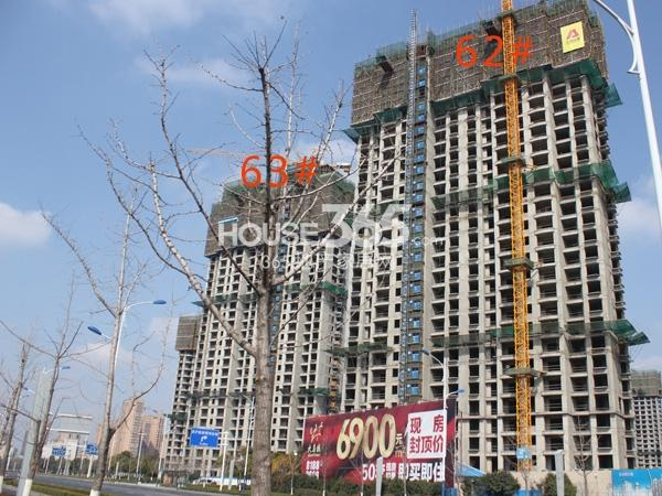 大名城62、63#工程实景图(2014.2.11)