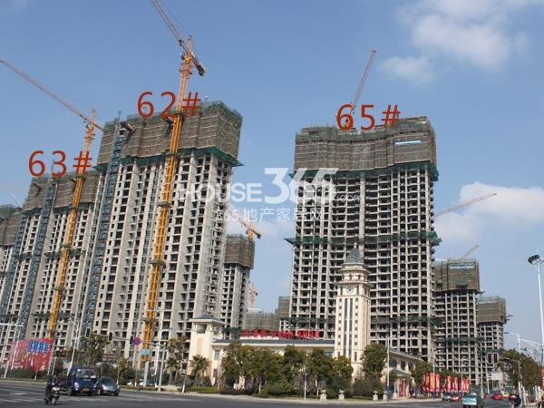 大名城62、63、65#工程实景图(2014.2.11)
