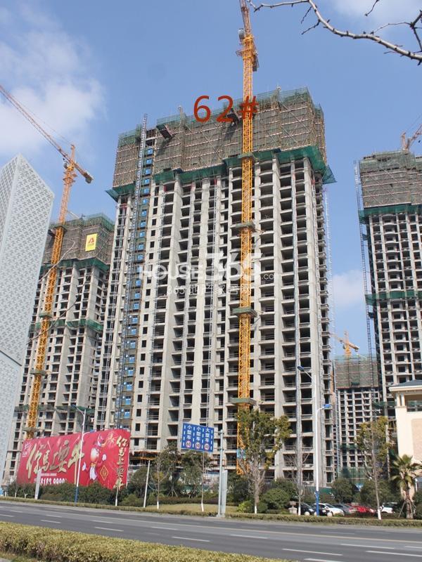 大名城62#工程实景图(2014.2.11)