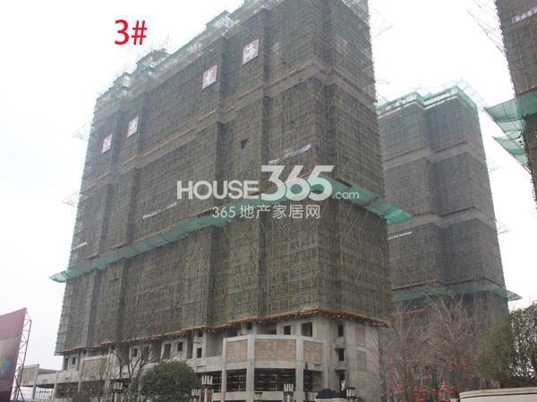 弘阳广场3#楼工程进度实景图(2014.2.12)