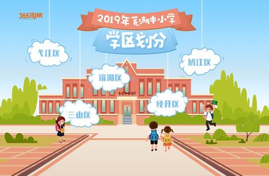 你家娃在哪上学?2019年芜湖市各区中小学学区划分出炉