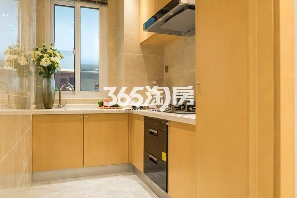 启迪协信无锡科技城D2户型115平样板间厨房
