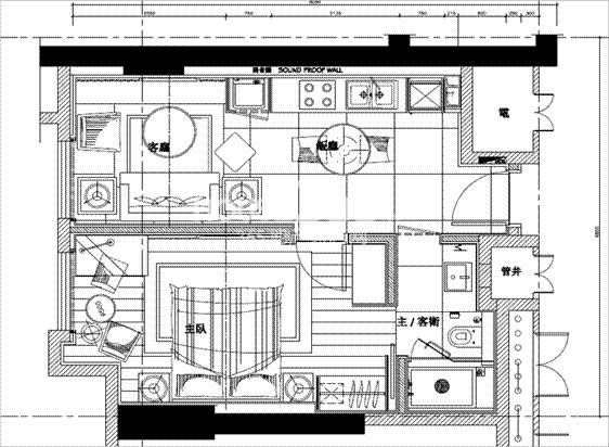 朗臣公寓户型图