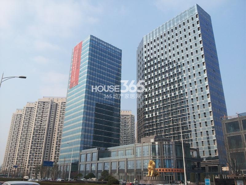 2014年2月中旬星耀城项目实景
