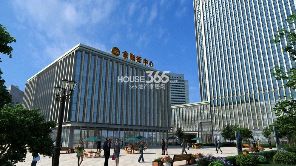 金融街(南开)中心效果图
