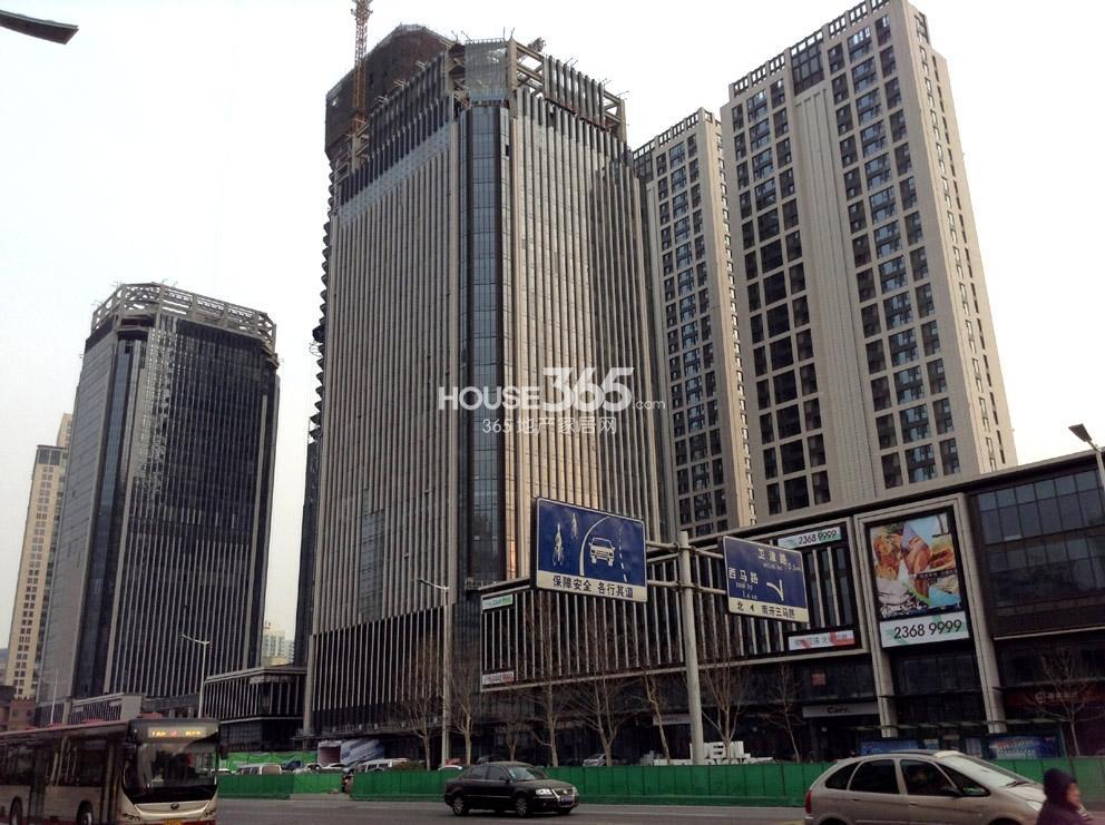 金融街(南开)中心实景图