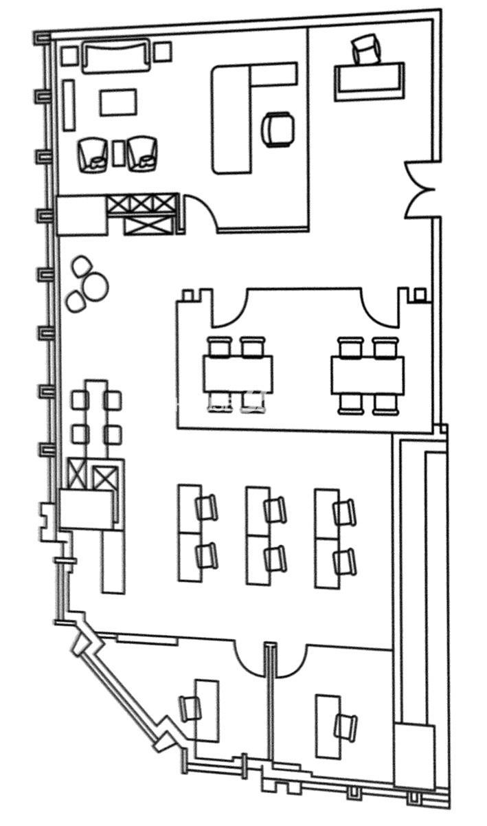 金融街(南开)中心户型图