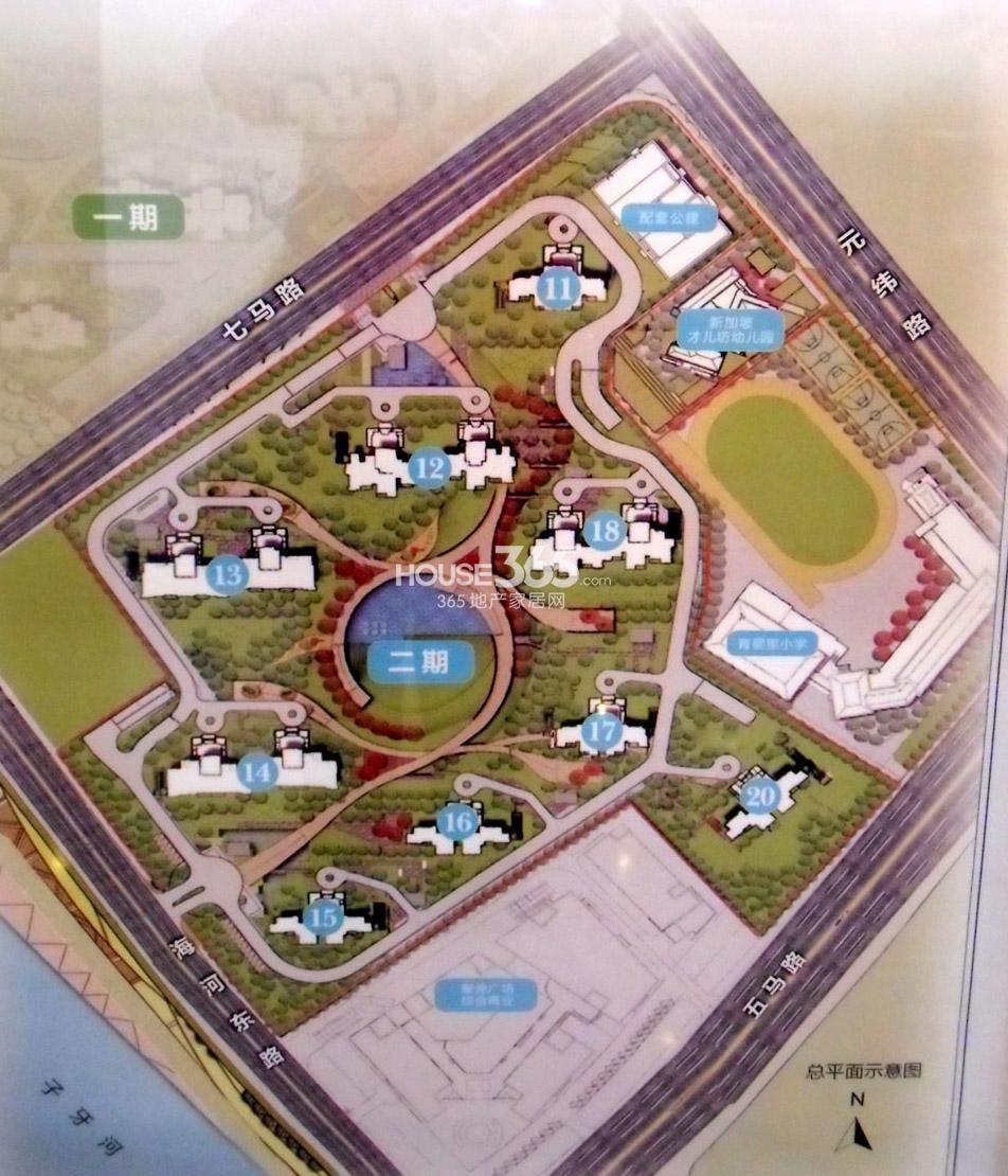 仁恒河滨花园二期平面图