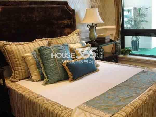 长泰国际社区190㎡样板间卧室实景图