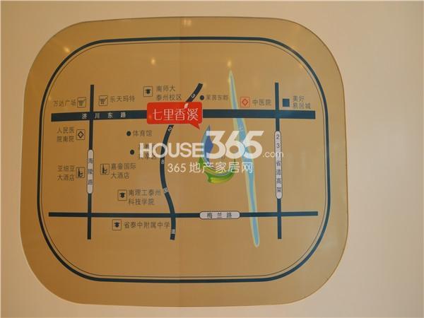 七里香溪交通图