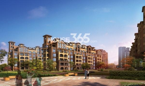 华强城颐景湾畔中央建筑效果图