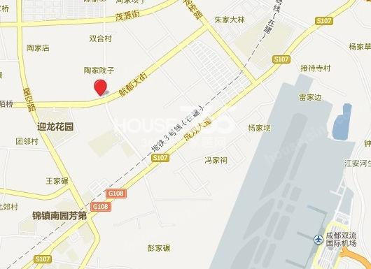 北大资源燕楠国际交通图